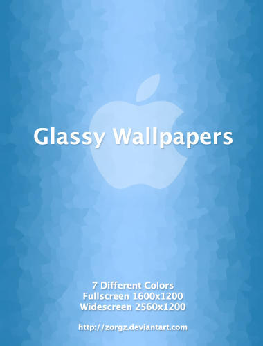 Glassy Wallpapers by ZorgZ