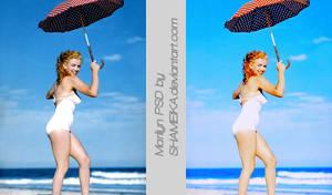 Marilyn PSD