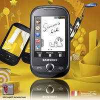 Samsung Corby S3650 PSD by Majki72