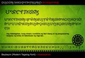 Baybayin MTF - Kaahasahas