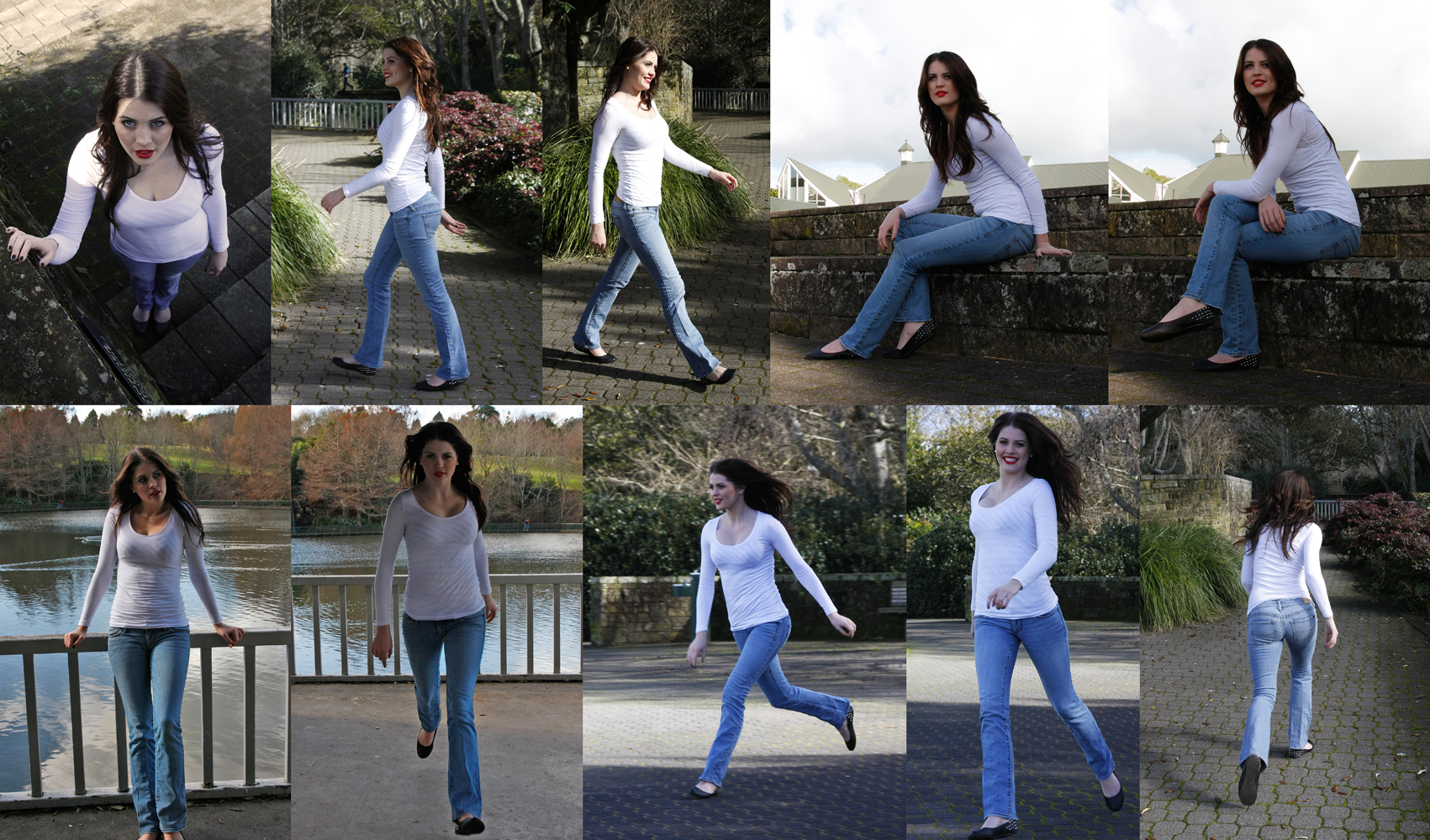 Casual poses set full body by CathleenTarawhiti