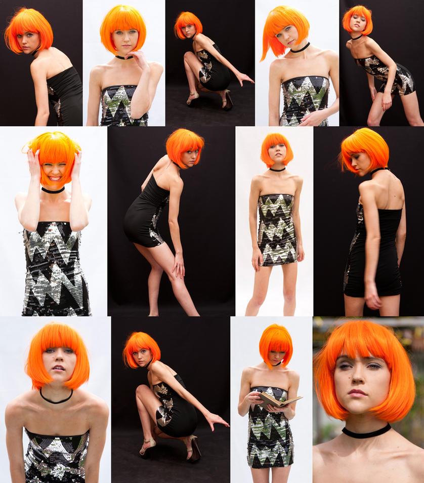 Tangerine set by CathleenTarawhiti