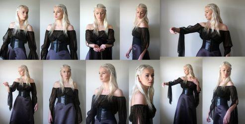 Khaleesi set by CathleenTarawhiti