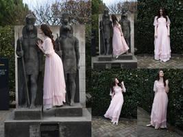 Pink dress set 2