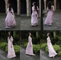 Danielle pink dress set 3 by CathleenTarawhiti