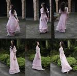 Danielle pink dress set 3