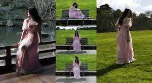 Danielle pink dress set 4 by CathleenTarawhiti