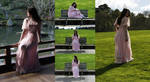 Danielle pink dress set 4