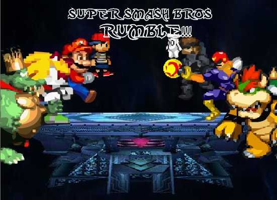 Super Smash Bros RUMBLE v 1 0 by tiguidou on DeviantArt