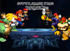 Super Smash Bros RUMBLE v.1.0 by tiguidou