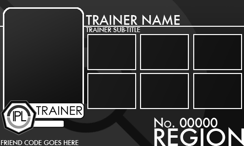 Trainer Card - Template v2.0 by Pokemon-League