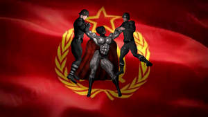 Soviet Superwoman - The MKU edition, in action... by dustybottums