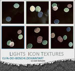Light icon texture