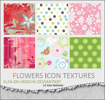 Flowers Texture pack by Elfa-dei-boschi