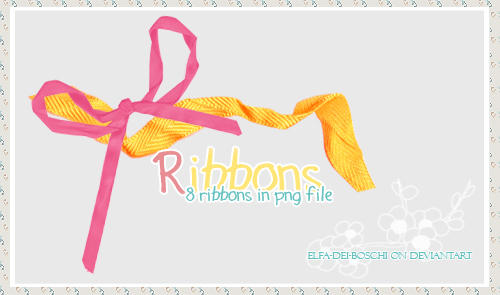 Ribbons stock by Elfa-dei-boschi