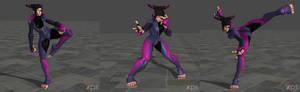 Street Fighter V Juri Pose Pack