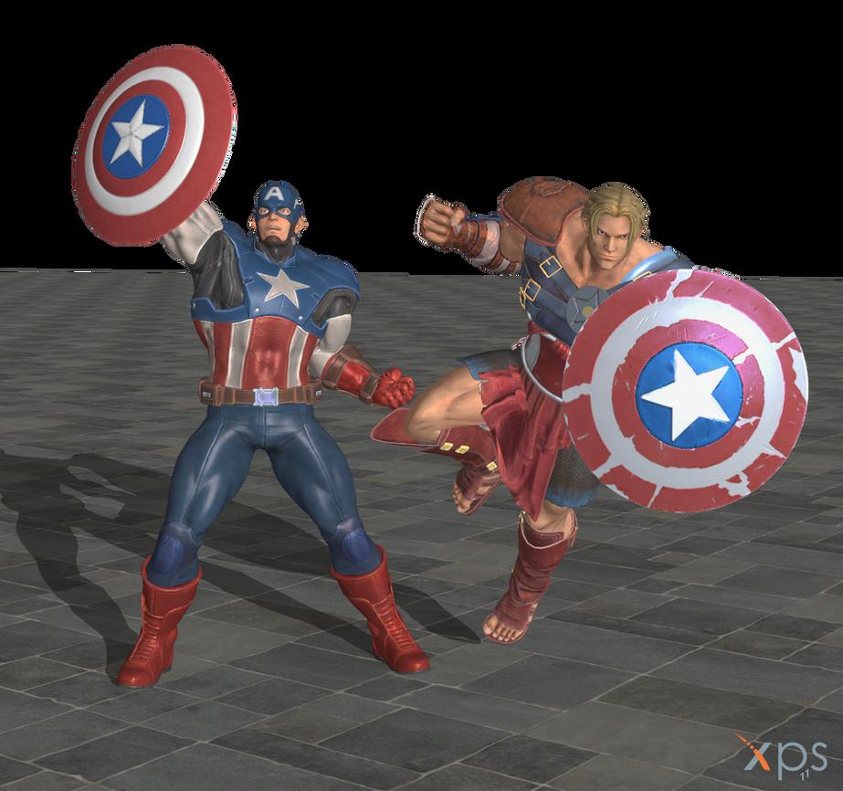 Marvel vs. Capcom Infinite - Captain America by ysc976