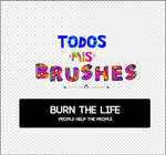 all my brushes | TODOS MIS BRUSHES AH