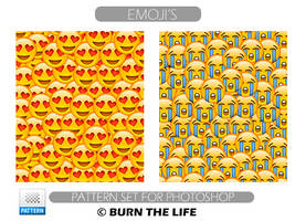 Emoji's | Pattern Set by Burn-the-life