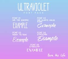 Ultraviolet [FONT SET]