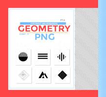 .geometry png pack by AlienQueenV