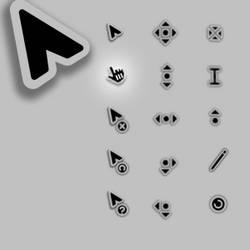 Link, pointer cursor for Entis