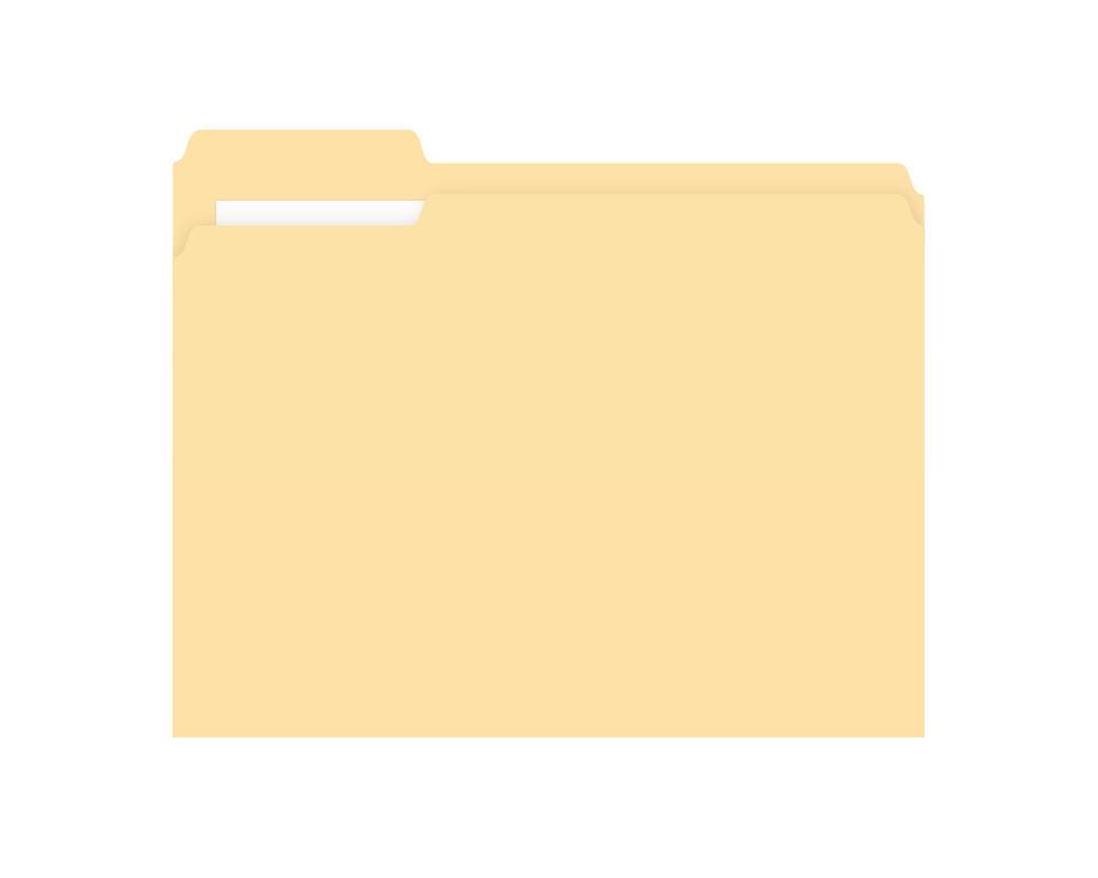 Folder -carpeta- amarillo PSD by GianFerdinand