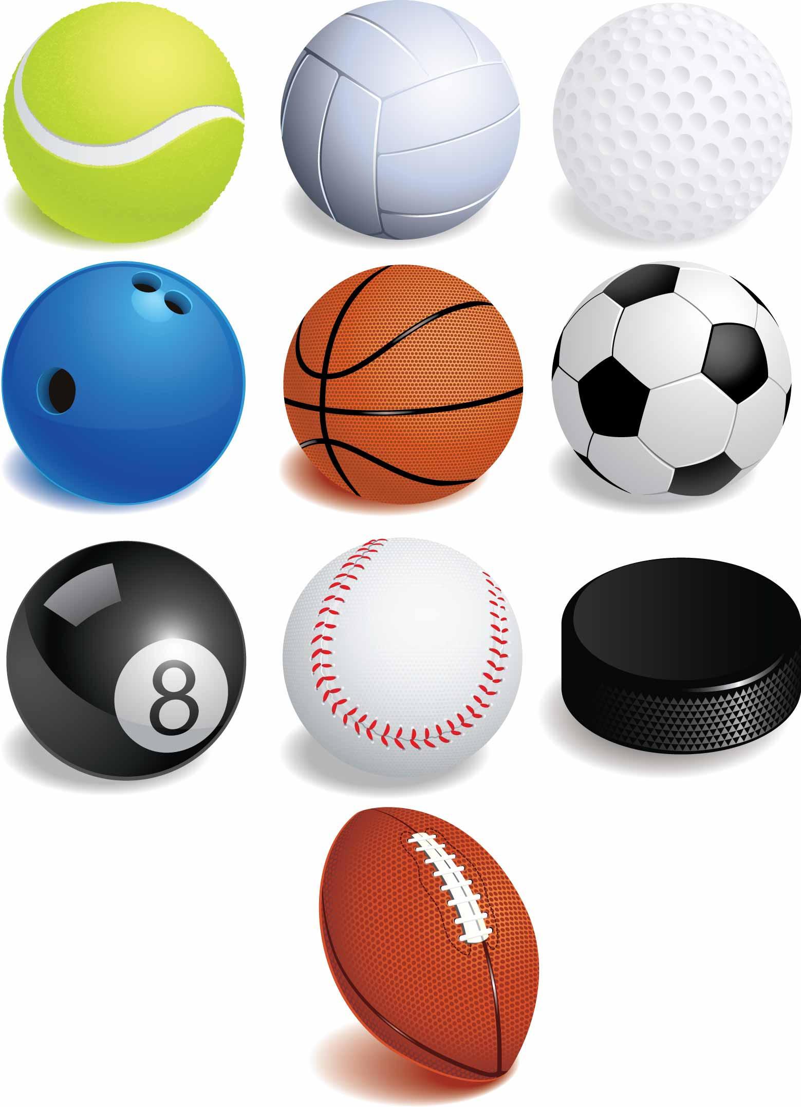 Balones -pelotas- de diferentes deportes AI y EPS by GianFerdinand