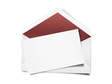Sobre para carta blanco PSD