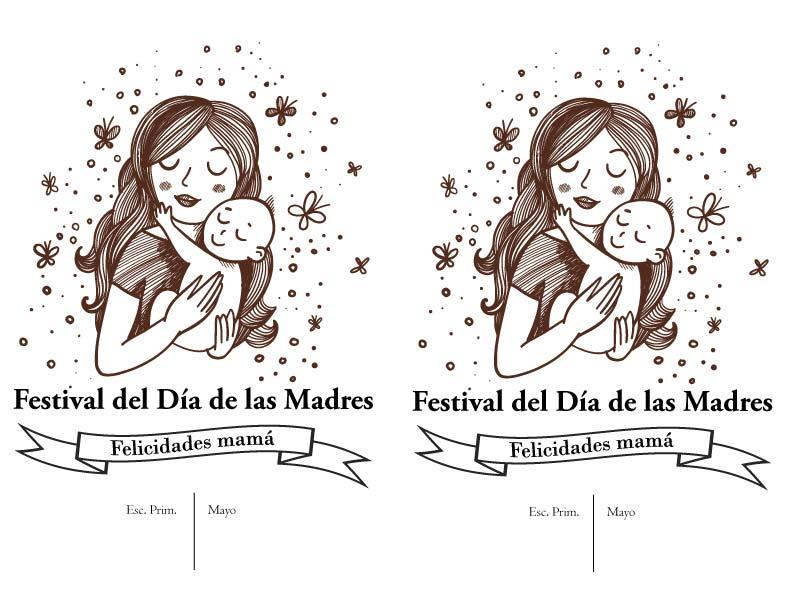 Bingo Show Dia De La Madre Viernes 11 De Mayo: Invitacion Del Dia Delas Madres