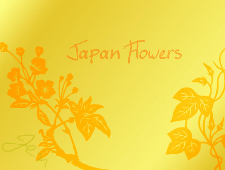 Japan Flower Brushes by Chads1986Dream