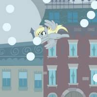 Derpy Snow Globe by bunnimation