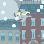 Derpy Snow Globe