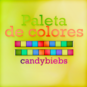 +Paleta de colores. by CandyBiebs