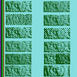 Screentoned towel by Urceola