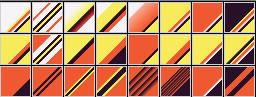 Fibonacci Series 36 Gradients by Urceola