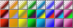 Fibonacci Series 37 Psp Gradients by Urceola