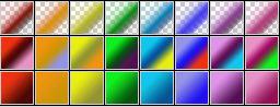 Fibonacci Series 37 Psp Gradients by Urceola