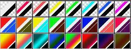 Fibonacci Series 40 Psp Gradients by Urceola