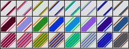 Fibonacci Series 41 PSP Gradients by Urceola