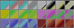 Fibonacci Series 42 PSP Gradients by Urceola