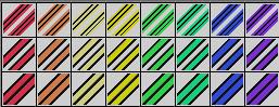 Fibonacci Series 43 Gradients by Urceola