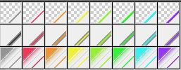 Fibonacci Series 44 Gradients by Urceola