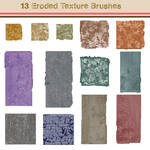 13 Eroded Texture Brushes