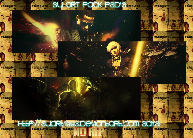 SU art Pack PSD's by SUart1993
