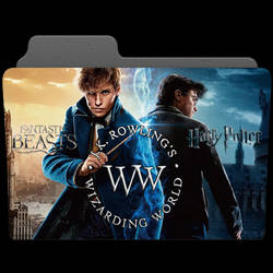 Wizarding World Movies Folder Icon by AaronMon97