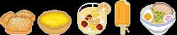 Free to Use: Foods Kiwi Likes by Pepperjack-Kiwi