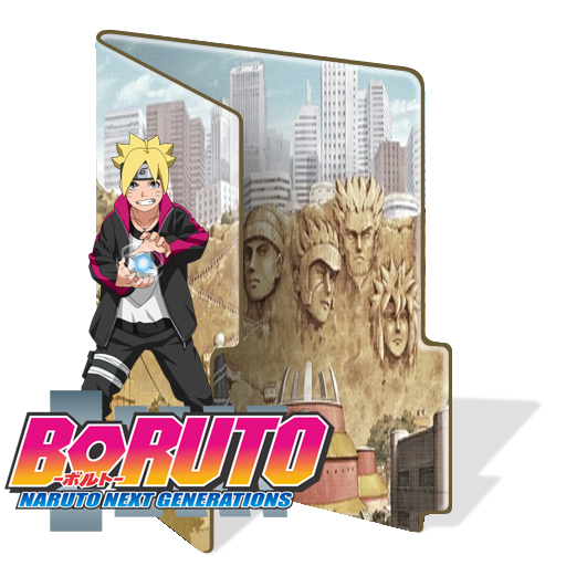 Boruto - Naruto Next Generations Folder Icon by BorisNaruto