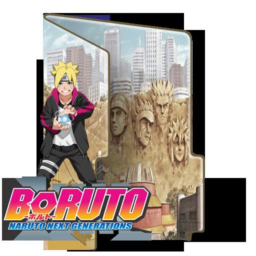 Boruto - Naruto Next Generations Folder Icon by BorisNaruto
