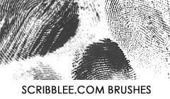 Fingerprints Brush Set by justcar